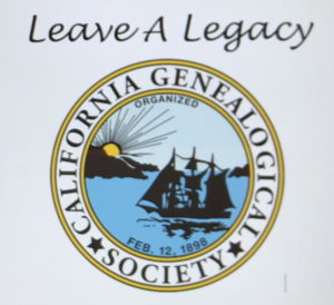 The CGS Logo with Leave A Legacy text
