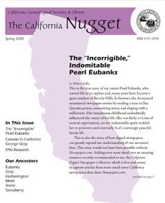 California Nugget - cover