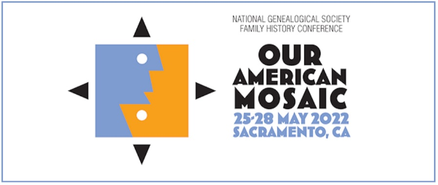 NGS 2022 logo: Our American Mosaic